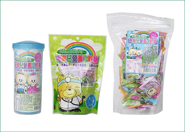 營養C軟糖(天然色素) 1
